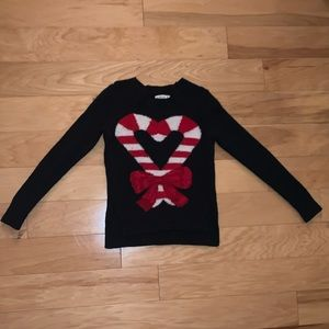 Abercrombie & Fitch Christmas sweater.
